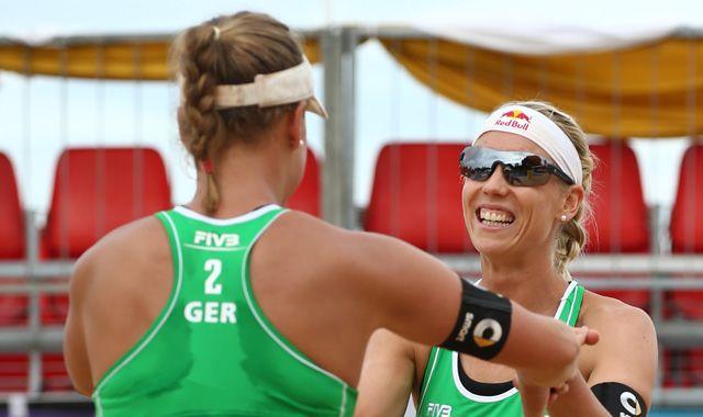 Karla Borger und Britta Büthe beenden den Grand Slam in Japan auf Rang neun nach freiwilligem Verzicht auf das Viertelfinale - Foto: FIVB