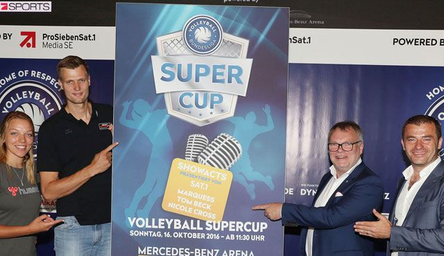 Volleyball Bundesliga meets 7Sports: Supercup, Superacts, Superparty!  - Foto: VBL