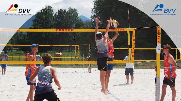 Kleine Stars ganz groß: Mini Beach-EM 2022 in Bayern - Foto: Hesse