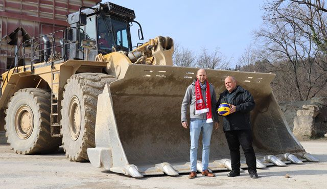 Schotterwerke Heinz neuer Partner des TV Rottenburg - Foto: TV Rottenburg