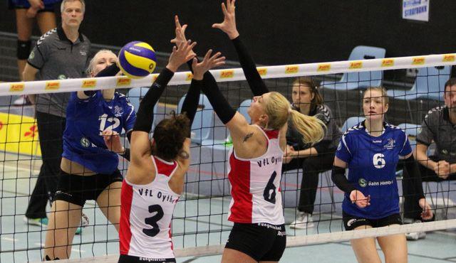 Bittere Niederlage für das Volleyball-Team Hamburg gegen Oythe - Foto: VTH/Lehmann
