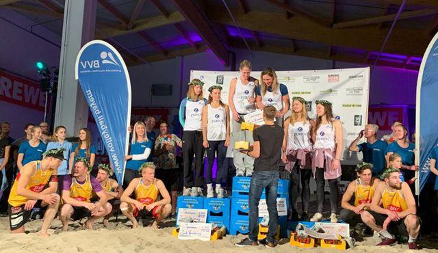 Beachvolleyballer und BVV begeistert von der Premiere der TomatOpen - Foto: BVV