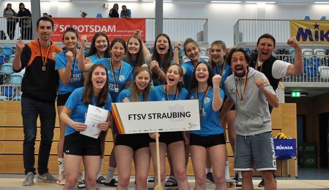 U18 Volleyballerinnen des FTSV gewinnen Bronze bei DM - Foto: Krause