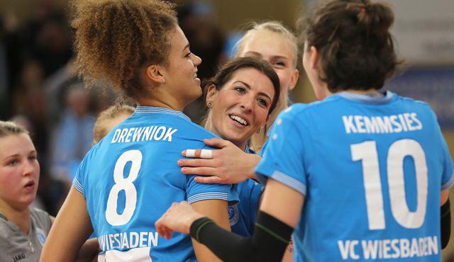 Schnuppern am Finale: Der VC Wiesbaden versucht in Stuttgart die Sensation - Foto: Detlef Gottwlad