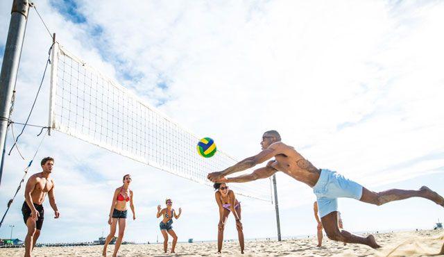 Sonnenschutz für Volleyballer: Die 3 besten Tipps - Foto: 123rf.com / Fabio Formaggio
