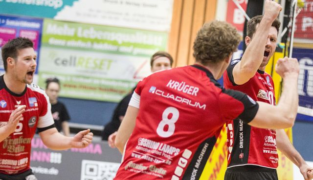 Mit neuem Trainer – und auch neuem Teamgeist - Foto: Frank Heumann