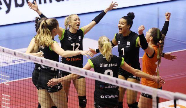 Aachen will am Samstag den Gästen aus Wiesbaden heißen Empfang bereiten - Foto: Ladies in Black Aachen