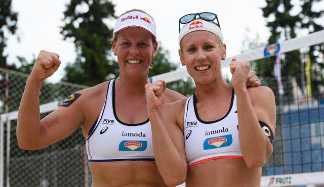 Vier DVV-Duos auf Rio-Kurs - Borger/Büthe im Viertelfinale - Foto: FiVB