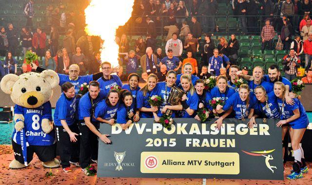 Pokalsieger Allianz MTV Stuttgart empfängt Roten Raben - Foto: Tom Bloch - www.tombloch.de