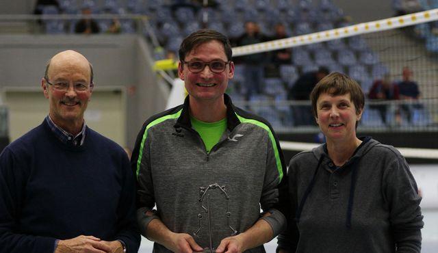SMASH AWARD 2019 für besondere Verdienste um den Hamburger Volleyball Gerd Grün - Foto: VT Hamburg/Lehmann