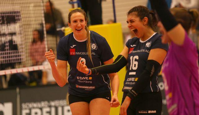 Souveräner Sieg fürs Selbstvertrauen: VCW gewinnt in Erfurt mit 3:1 - Foto: Detlef Gottwald