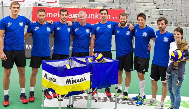 Trainingsauftakt bei den Häfler Volleyballern - Foto: Günter Kram