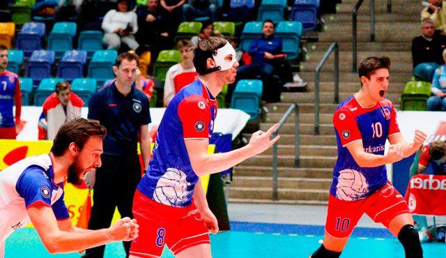 """United Volleys zeigen """"Different Shades of Volleyball"""" - Foto: United Volleys/Gregor Biskup"""