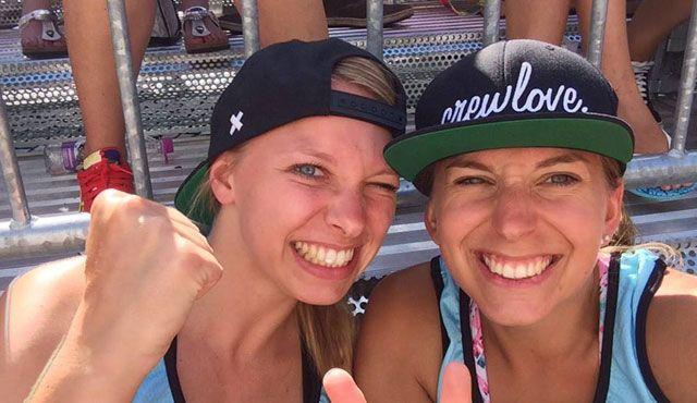 SV Lohhof Beach: Lohhofer Beachteam Auer/Keferloher gewinnt überraschend die bayerische Meisterschaft im Beachvolleyball  - Foto: SV Lohhof