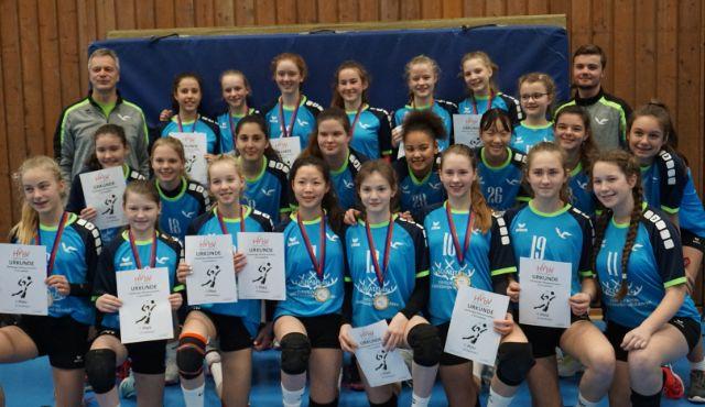 Nachwuchsteams vom Volleyball-Team Hamburg bei Hamburger Meisterschaften erfolgreich - Foto/VTH