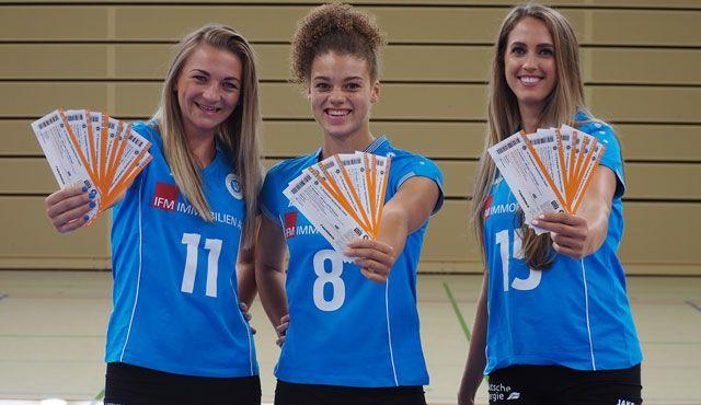 VC Wiesbaden startet Ticketverkauf für die Saison 2017/2018 - Foto: VCW