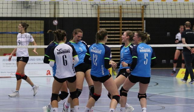Volleyball-Team Hamburg hat den USV Potsdam zu Gast - Foto: VT Hamburg