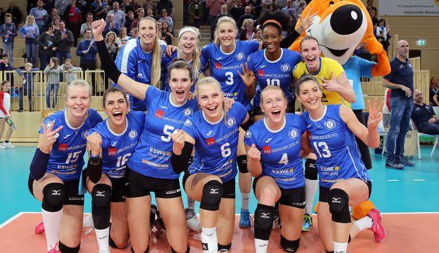 Sieg gegen Straubing: VCW erspielt drei wichtige Punkte - Foto: Detlef Gottwald