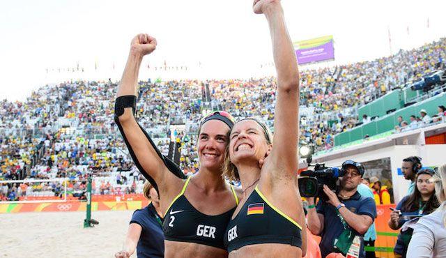 Ludwig/Walkenhorst spielen um die Medaillen - Foto: FiVB