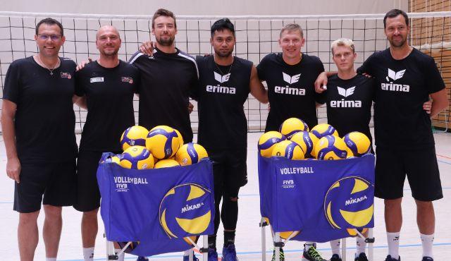 Trainingsstart mit Mini-Aufgebot - Foto: BR Volleys