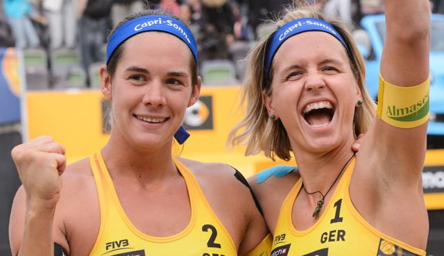 Hamburg Major: Ludwig/Walkenhorst im Finale - Foto: FiVB