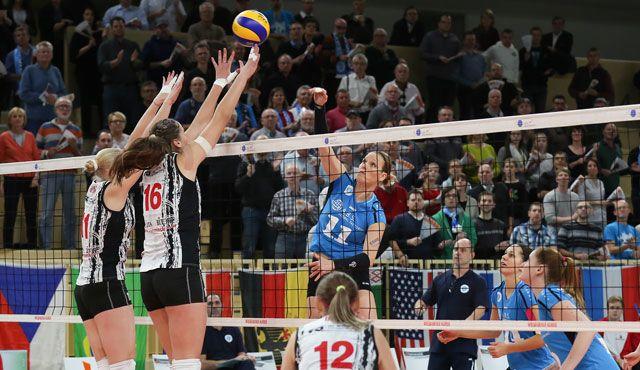 VC Wiesbaden unterliegt Minsk im CEV Challenge Cup - Foto: Detlef Gottwald
