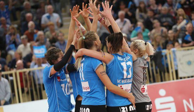 Show-Training in Fulda: Volleyball-Bundesligist VC Wiesbaden hautnah erleben - Foto: Detlef Gottwald