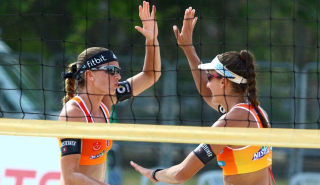 Frauen-Teams mit ordentlichem Auftakt - Foto: FiVB