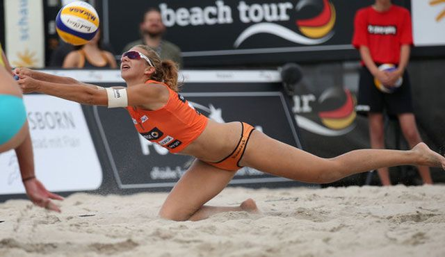 Karnbaum/Niemczyk starten beim smart beach cup in Thüringen - Foto: smart beach tour, hoch-zwei-net