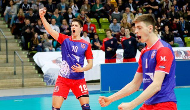 Saisoneröffnung des TV Bliesen - Moritz Reichert und United Volleys zu Gast in St. Wendel - Foto: United Volleys