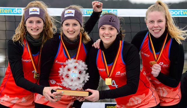 Gewinner des Goldenen Händchens greift bei Snow-DM an - Foto: Conny Kurth / DVV