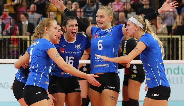 Nächster Coup in Schwerin: VCW macht Playoff-Einzug perfekt! - Foto: Detlef Gottwald