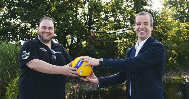 proWIN Winter GmbH verlängert Haupt- und Namenssponsoring der proWIN Volleys TV Holz - Foto: proWIN Volleys TV Holz