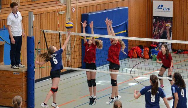 Bayernpokal der U15 weiblich und U16 männlich beim SV Esting - Foto: Ralf Müller
