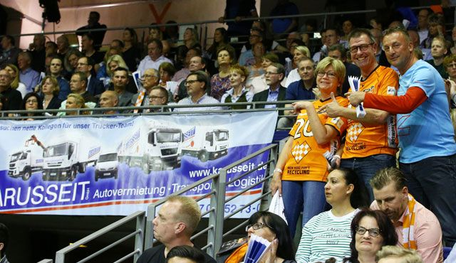 10 Jahre Karusseit und BR Volleys - Foto: Eckhard Herfet