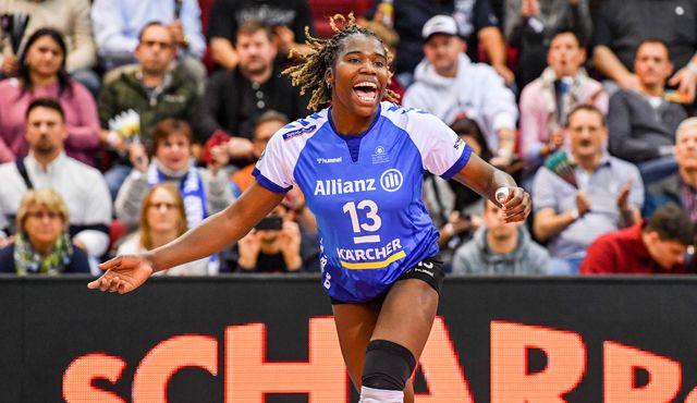 Krystal Rivers greift eine weitere Saison für Allianz MTV Stuttgart an - Foto: Tom Bloch