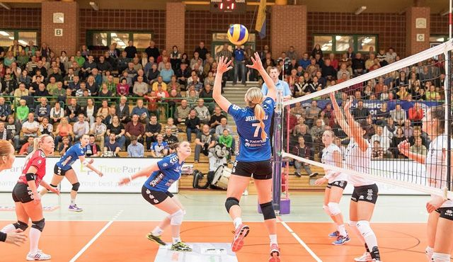 VolleyStars Thüringen - Optimismus behalten - Foto: Stephan Roßteuscher