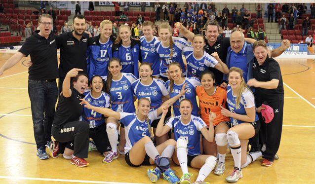 Allianz MTV Stuttgart: Stuttgart steht im Halbfinale der Play-offs - Foto: Tom Bloch - www.tombloch.de