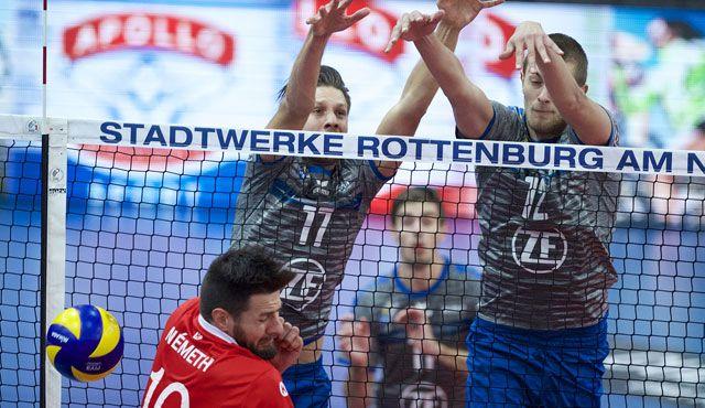Souveräner Sieg über Rottenburg - Foto: Günter Kram