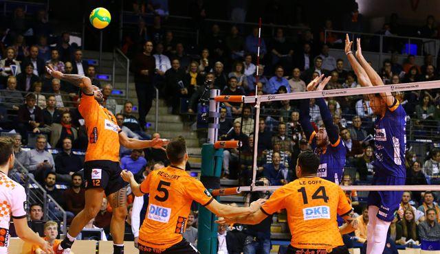 Russischer Meister zu Gast im Volleyballtempel  - Foto: Eckhard Herfet