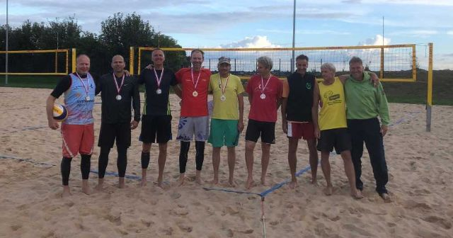 Hessenmeisterschaften der Ü53 und Ü47 Beach-Senioren: Brömmeling/Kann erneut Doppelsieger - Foto: Britta Gerlach