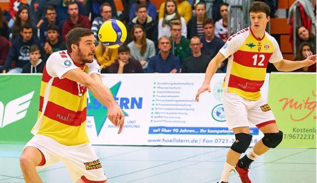 Von Lehrgeld und dem Topspiel der Liga - die BADEN VOLLEYS dürfen zweimal ran - Foto: Andreas Arndt