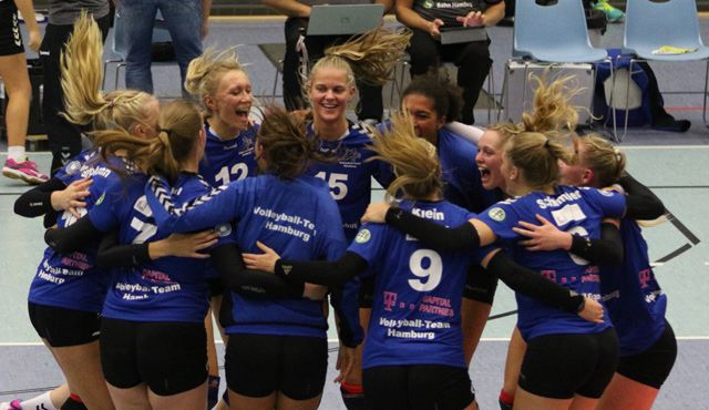 Volleyball-Team Hamburg gewinnt erstes Heimspiel der Saison mit 3-0 - Foto: VTH Lehmann