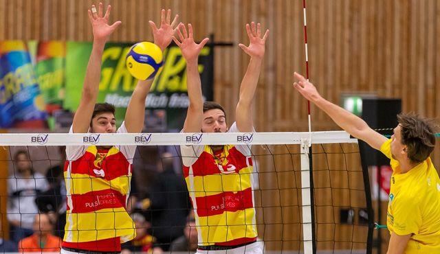 Für die BADEN VOLLEYS geht es in Mainz um die Herbstmeisterschaft  - Foto: Michael Oexner