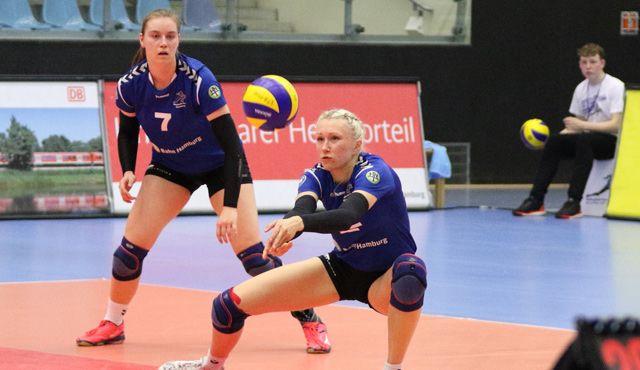 Volleyball-Team Hamburg vor letztem Saisonspiel beim BBSC Berlin - Foto: VTH/Lehmann