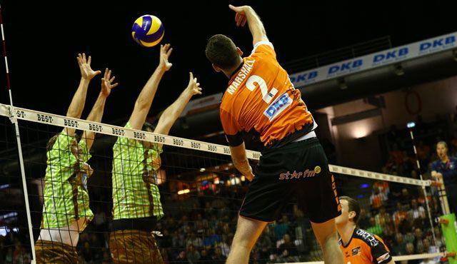 Zurück im Volleyballtempel - Foto: Eckhard Herfet