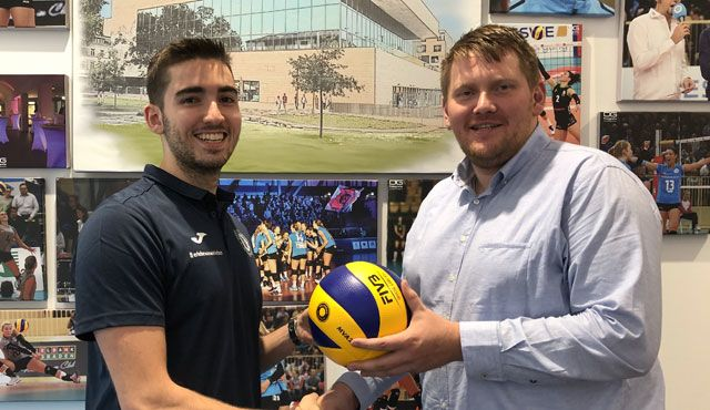 Marko Stipanovic stößt zum VCW-Trainer-Team hinzu - Foto: VC Wiesbaden