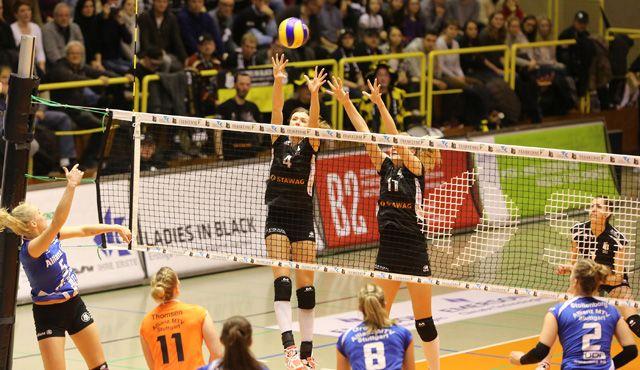 Ladies in Black verlieren gegen den Tabellendritten Stuttgart mit 1:3 - Foto: Ladies in Black Aachen // Andreas Steindl