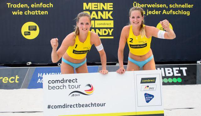 Overländer-Zwillinge und Stautz/Welsch schnappen sich letzte DM-Tickets - Top-Teams Titel geht an die Schweiz - Foto: Conny Kurth