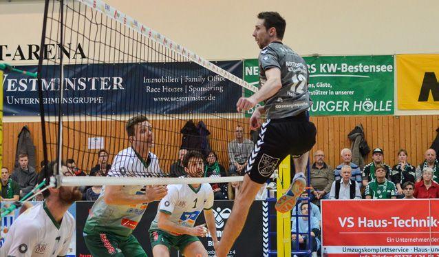 NETZHOPPERS noch einen Sieg vom Playoff-Viertelfinale entfernt - Foto: Gerold Rebsch
